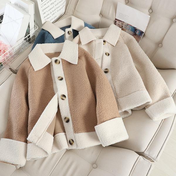 Нов модел дамско палто с копчета в няколко цвята
