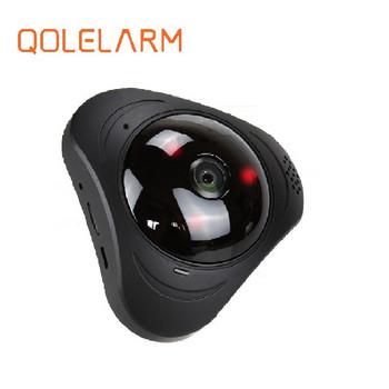 360 градусова камера за видеонаблюдение с нощно виждане и WiFi