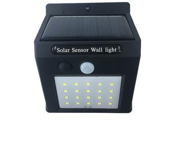 Соларна лампа за стена със сензор за движение