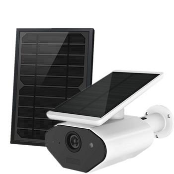 Водоустойчива соларна камера за видеонаблюдение с TF карта и PIR готовност за събуждане ,WIFI камера
