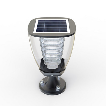 Безжична водоустойчива LED лампа захранваща се от слънчева светлина за ползване на открито