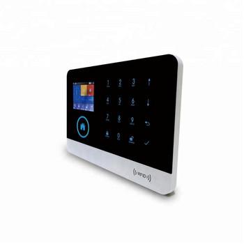 Охранителна touch screen система за дома съвместима с Android и IOS