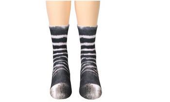 Ежедневни дамски чорапи с апликация в няколко разцветки