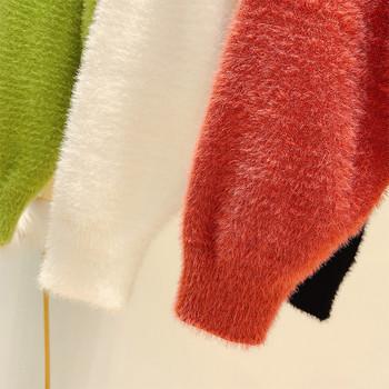 Дамска пухена жилетка с копчета в няколко цвята