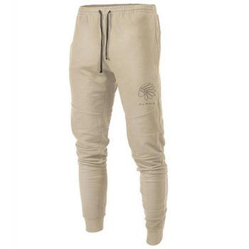 Ежедневни мъжки спорни панталони с връзки в няколко цвята