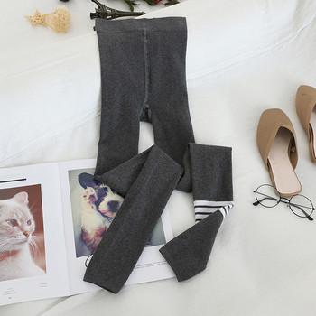 Дамски зимен чорапогащник с висока талия в четири цвята