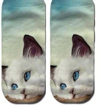 Дамски къси чорапи с апликация в няколко модел