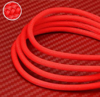 Висококачествен Data Cable Type C за мобилни устройства в червен цвят