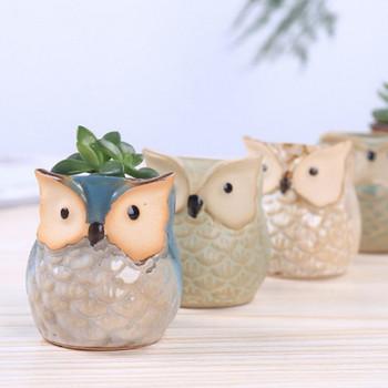 Декоративна керамична саксия - три модела