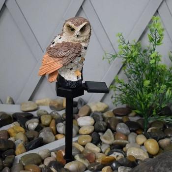 Водоустойчива соларна лампа за градина