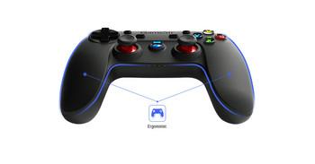 Джойстик за игри съвместим с PS3, телефони с Android компютри и Samsung Gear VR