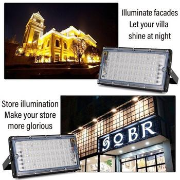 Комплект от четири, шест или осем водоустойчиви LED лампи