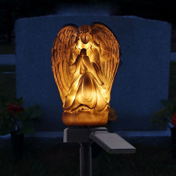 Водоустойчива соларна LED лампа - ангел