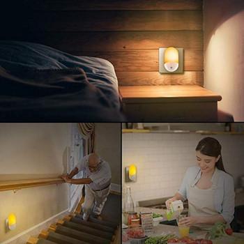 Енергоспестяваща LED лампа със сензор за движение