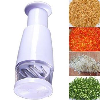 Ръчен уред за ситно рязане на зеленчуци и подправки