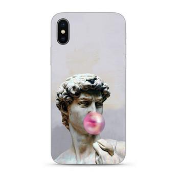 Силиконов калъф с David Michelangelo за Iphone XR в сив цвят