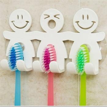 Πλαστική βάση οδοντόβουρτσας σε λευκό χρώμα