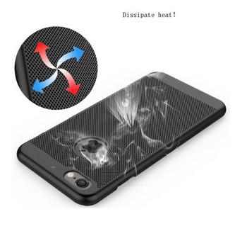 Удароустойчив и прахоустойчив калъф за iPhone 7 plus и iPhone 8 plus в черен цвят
