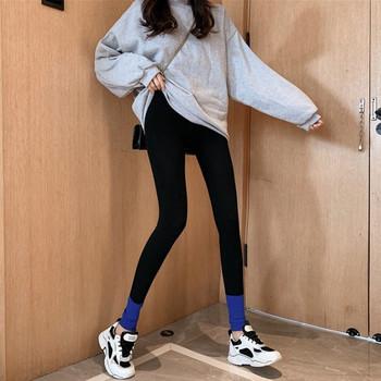 Дамски спортно-ежедневен клин с висока талия в три цвята