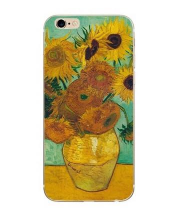 Калъф за iPhone 6 и iPhone 6S - Ваза с цветя