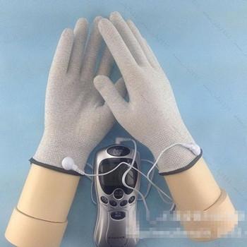 Масажни електронни ръкавици подходящи за масаж на лице и тяло