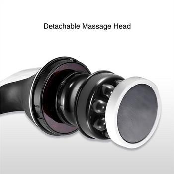 Многофункционален вибрационен ръчен масажор с четири приставки