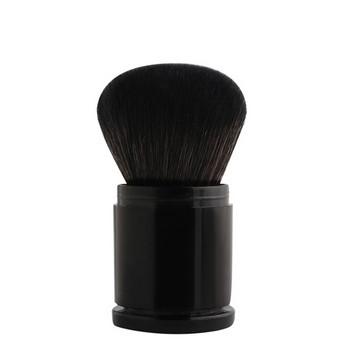 Αναδιπλούμενη βούρτσα κατάλληλη για πούδρα και ρουζ σε μαύρο χρώμα
