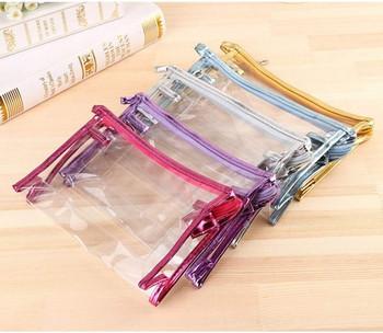 Комплект от пет броя козметични водоустойчиви несесери за грим