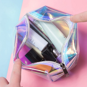 Водоустойчив несесер за гримове и тоалетни принадлежности - 3 цвята