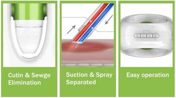 Уред за дълбоко почистване кожата на лицето чрез вакуум