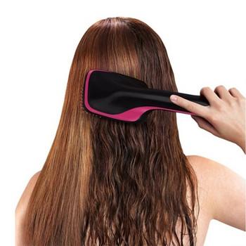 Ηλεκτρική βούρτσα για εύκολη ξήρανση και ευθυγράμμιση των μαλλιών με λειτουργία ιονισμού
