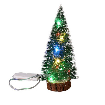 Декоративна коледна елха с LEД лампички