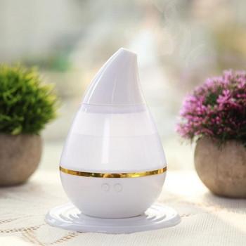 Дифузер за етерични масла и арома терапия  с LED светлини в седем цвята