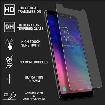 Стъклен протектор за Samsung А6+ - прозрачен