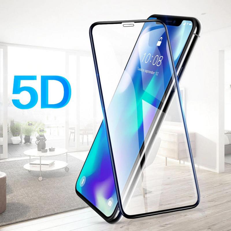 Закалено  5D удароустойчиво стъкло за Iphone XS MAX - glass screen protector