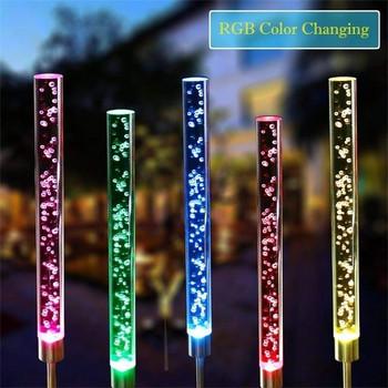 Водоустойчива слънчева LED лампа подходяща за декорация на градина