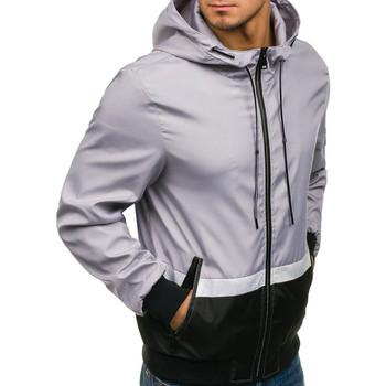 Мъжко туристическо яке с качулка и връзки в няколко цвята
