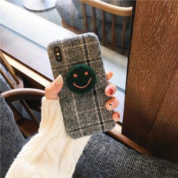 Кариран твърд гръб за  Iphone X/XS и  Iphone XS Max + пръстен в зелен и жълт цвят