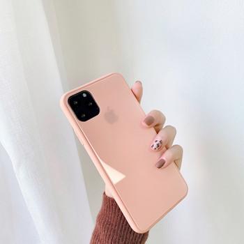 Едноцветен силиконов калъф за Iphone 11 Pro Max в пет цвята