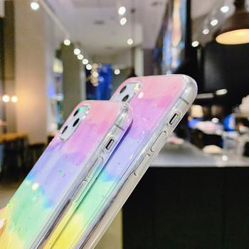 Цветен калъф с лъскав ефект за Iphone 11 Pro Max