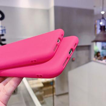Цикламен калъф за Iphone 11 Pro Max и Iphone 11 Pro