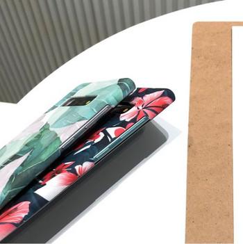 Твърд гръб за Samsung s10 с флорален десен - три модела