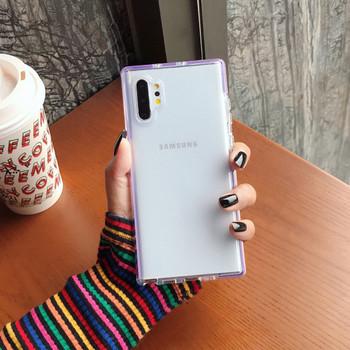Силиконов калъф за Samsung Note 10 в няколко цвята