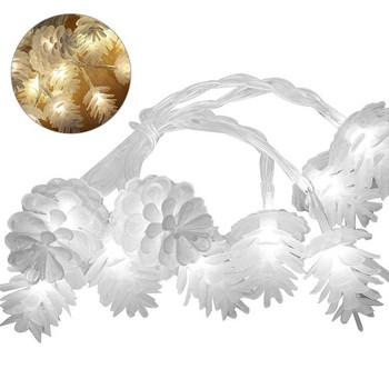 LED φώτα σε σχήμα κώνου σε δύο χρώματα με λευκό και πολύχρωμο φως