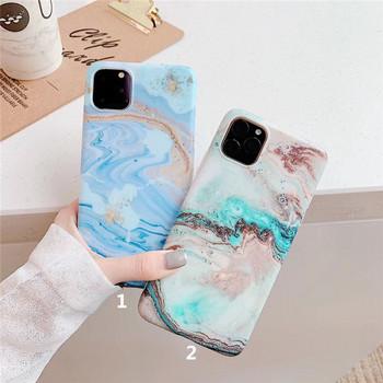 Калъф за Iphone 11 Pro Max с мраморен ефект - два модела