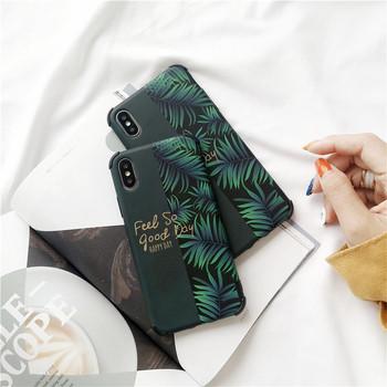 Калъф за Iphone X/XS с надпис Feel so good Day в зелен цвят