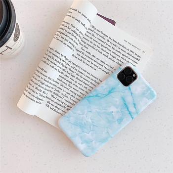 Калъф за Iphone 11 Pro Max  с мраморен ефект в розов и син цвят