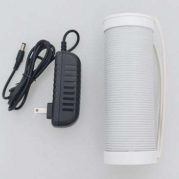 Прахоуловител за маникюр с мощен вентилатор за професионална употреба в бял цвят