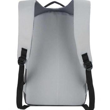 Нов модел мъжка водоустойчива раница в сив и черен цвят