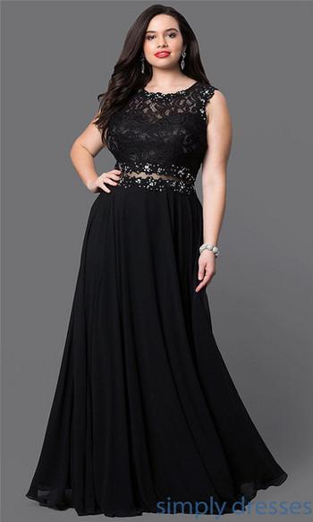 Елегантна дамска дълга дантелена рокля с широки презрамки разкроен модел в сив и черен цвят
